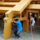 В Таиланде за один день построили храм из картона