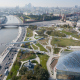 Парк «Зарядье». Проект консорциума Diller & Scofidio + Renfro, победивший в конкурсе 2013 года, Москва