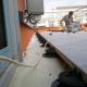 Панорамная терраса на эксплуатируемой кровле БЦ «Россо Рива» сделана на опорах BUZON DPH-серии