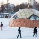 В Екатеринбурге суд распорядился демонтировать «таинственную плавучую полусферу»