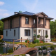 Новый взгляд на архитектуру типового загородного дома