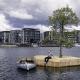 В Копенгагене появился плавучий остров для барбекю