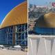 Золотой купол Большой мечети в Алжире создан с применением системы Riverclack®