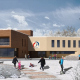 Модернизация спортивно-оздоровительной базы «Лесная», Троицк