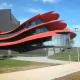 Театр имени Ханса Отто в Потсдаме: окрыленный куб