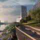 Благоустройство территории ЖК Береговой и городской набережной, Москва