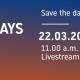 22 марта компания Duravit приглашает на онлайн-конференцию Duravit Design Days, где представит свои новые продукты