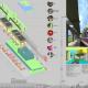 Проект комплексной реконструкции ТТЦ «Останкино». Проект, показанный на выставке «Новые имена», Арх Москва – 2009, Москва