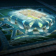 Футбольный стадион команды Dalian Shide, Далянь