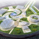 """""""sNezhnaya Russia"""". The uniform design concept of complex of sports facilities for the Olympic Games in Sochi., Sochi"""