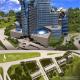 Конкурсный проект многофункционального центра и гостиницы Intercontinental в Ереване, Ереван