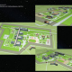 Vostochny spaceport. Scheme of the site layout planning,