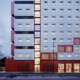Общежитие на контрастной подкладке
